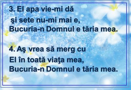 Bucuria- 3,4