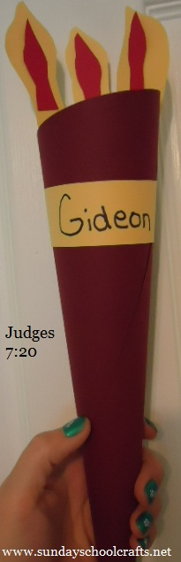 Gideon Torch Craft for kids