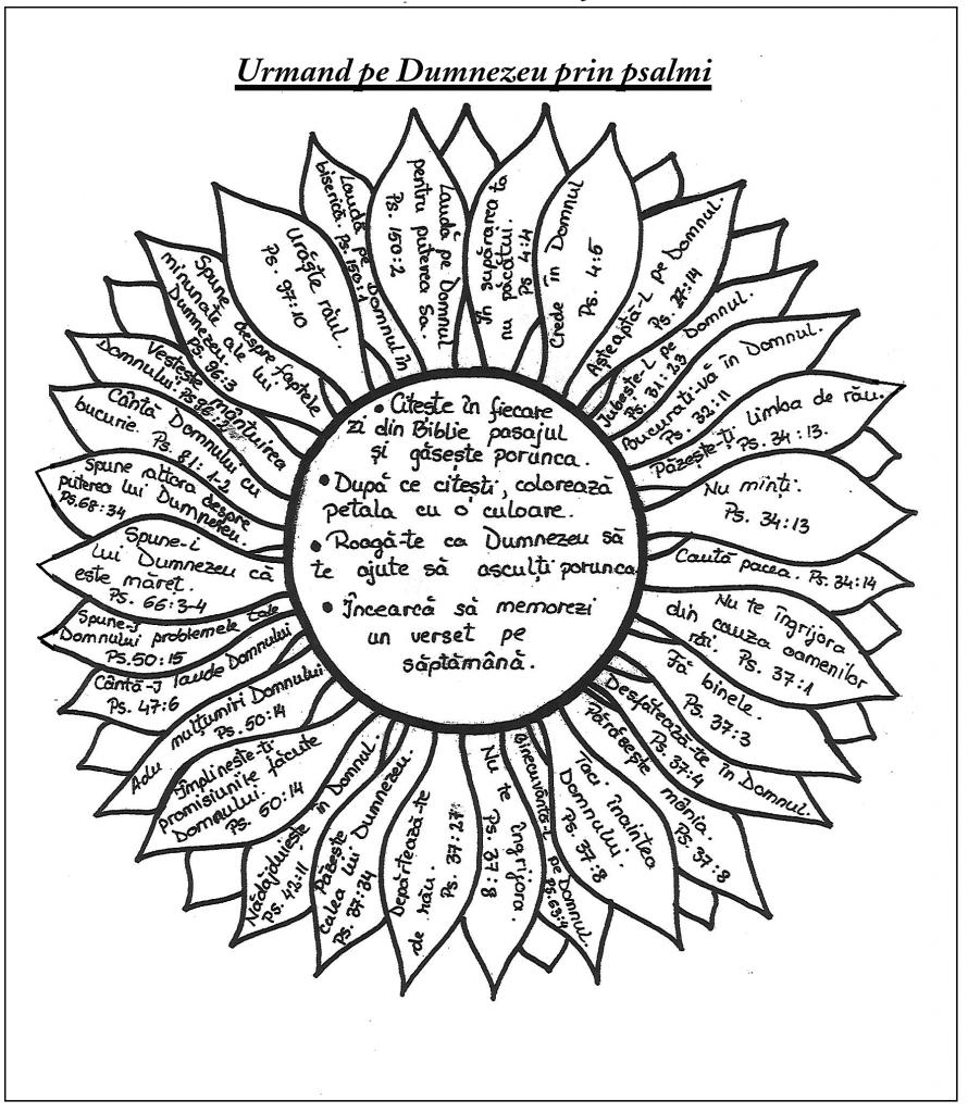 Floare- psalmi