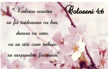 Coloseni 4-6