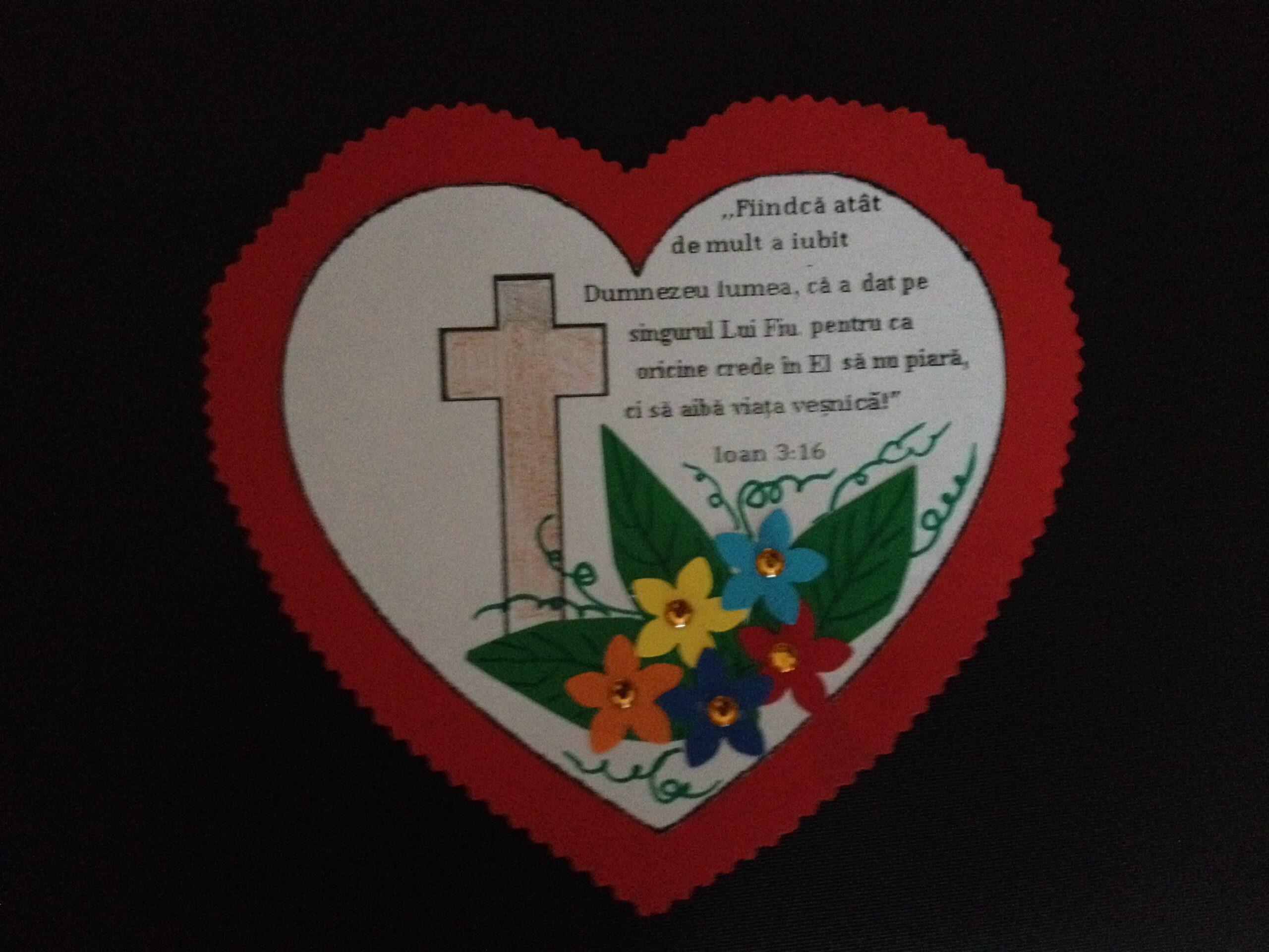 Ioan 3.16 inima