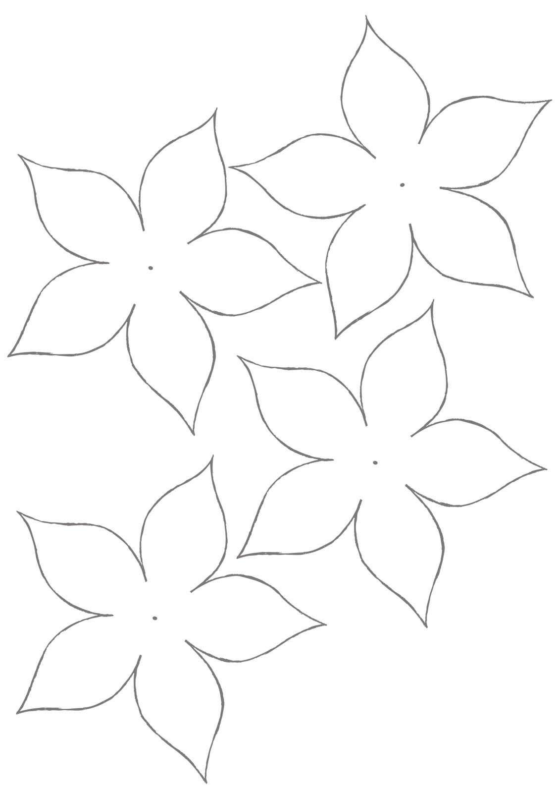 petal #1 template