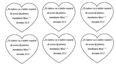 Ieremia 31.3 - verset pe inima