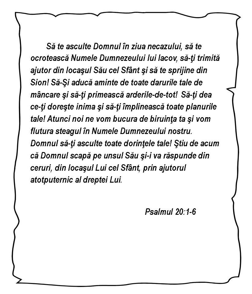 Psalmul 20.1-6