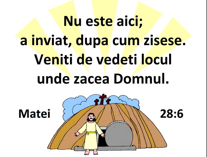 Matei 28.6