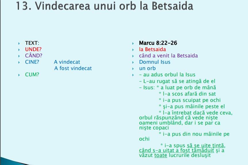 Vindecari 13
