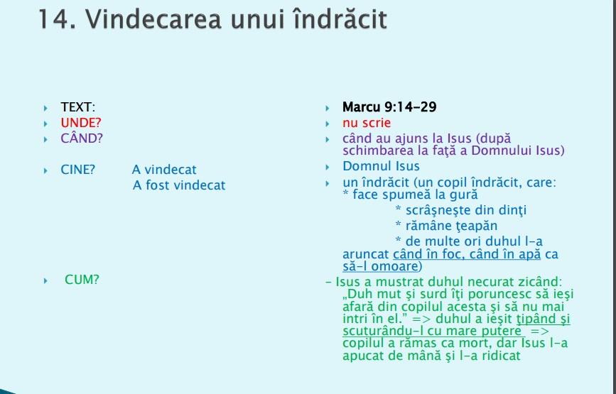 Vindecari 14