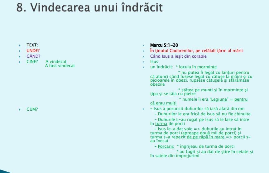 Vindecari 8