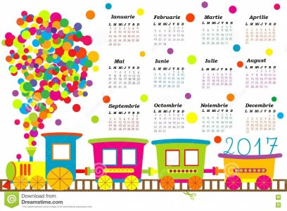 calendar-cartoon-train-kids-children-77480774