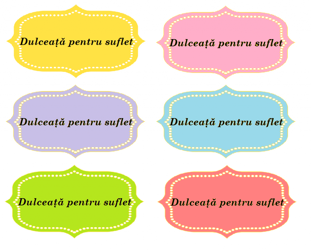 etichete - dulceata pentru suflet