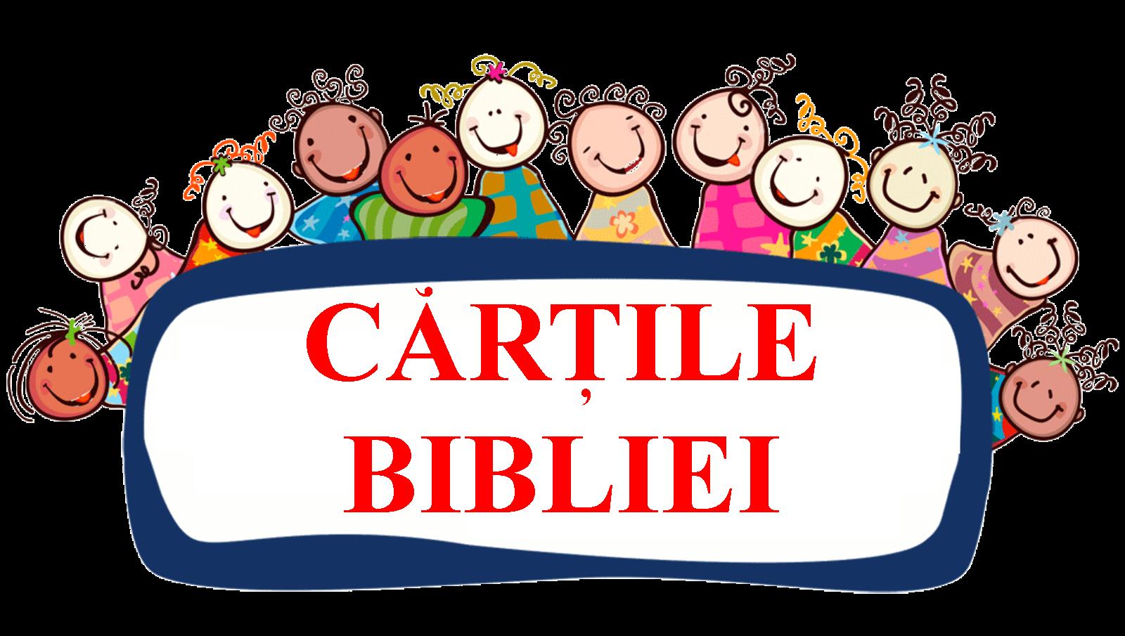 CARTILE BIBLEI