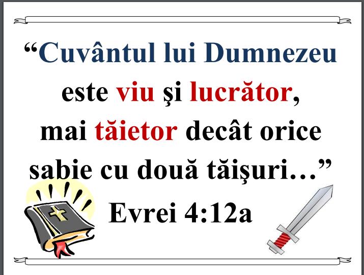 Evrei 4.12 a