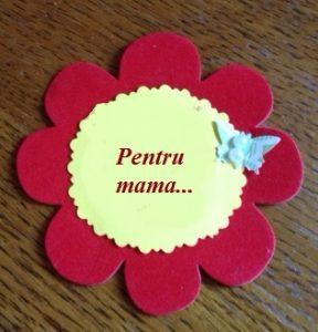 floare- pentru mama