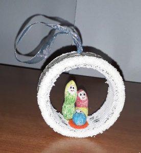 Globul -ornament din arahide